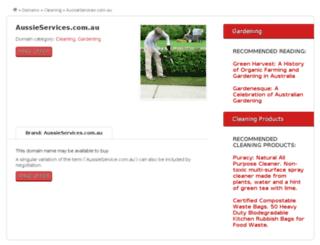 aussieservice.com.au screenshot