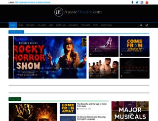 aussietheatre.com.au screenshot