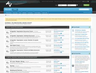 aussievapers.com screenshot