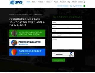 aussiewatersavers.com.au screenshot