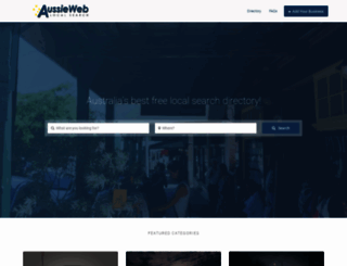 aussieweb.com.au screenshot