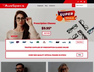 ausspecs.com.au screenshot