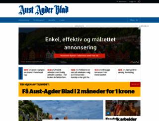 austagderblad.no screenshot