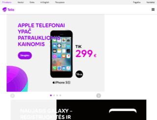 austeja.omnitel.net screenshot
