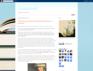 austenised.blogspot.com screenshot