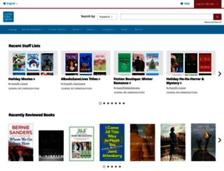 austin.bibliocommons.com screenshot