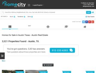 austin.homecity.com screenshot