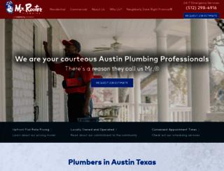 austin.mrrooter.com screenshot