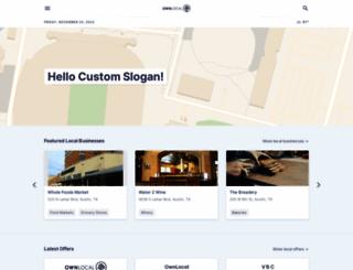 austin.ownlocal.com screenshot