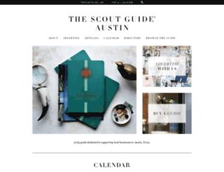 austin.thescoutguide.com screenshot