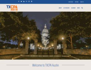 austin.tscpa.org screenshot