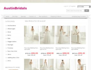 austinbridalsdress.com screenshot