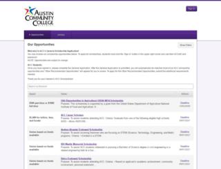 austincc.academicworks.com screenshot