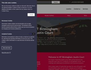 austincourt.theiet.org screenshot