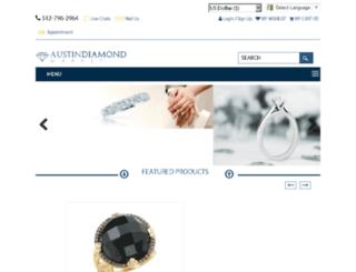 austindiamondmarket.com screenshot