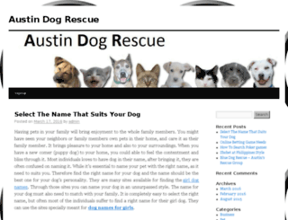 austindogs.net screenshot