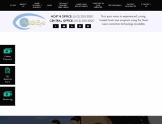 austineye.com screenshot