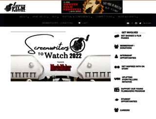austinfilmfestival.com screenshot