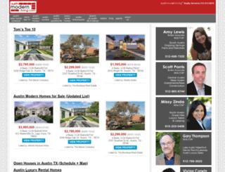 austinmodernliving.com screenshot