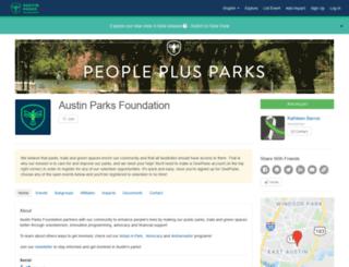 austinparks.givepulse.com screenshot