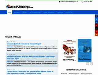 austinpublishinggroup.com screenshot