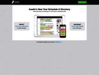 austinsnewyear2014.sched.org screenshot