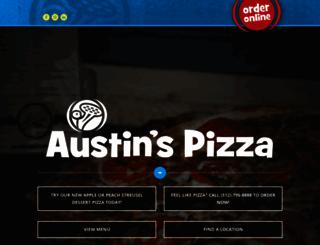 austinspizza.com screenshot
