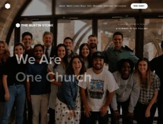 austinstone.org screenshot
