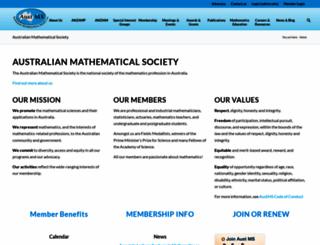 austms.org.au screenshot