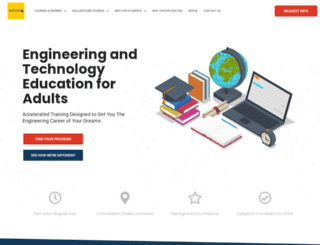 auston.edu.sg screenshot