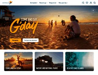 australia.com screenshot