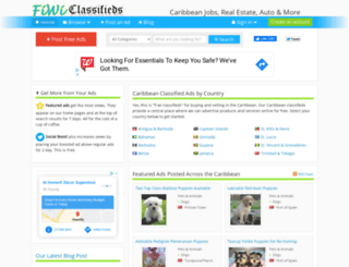 australia.fiwiclassifieds.com screenshot