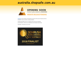 australia.shopsafe.com.au screenshot