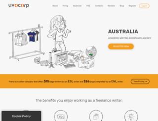 australia.uvocorp.com screenshot
