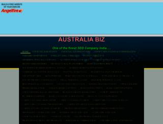 australia123business.angelfire.com screenshot