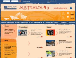 australia4u.sk screenshot