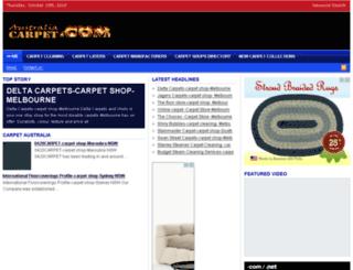 australiacarpet.com screenshot