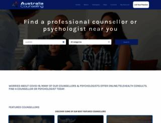 australiacounselling.com.au screenshot