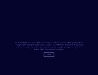 australiaday.com.au screenshot