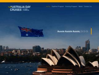 australiadaycruises.com.au screenshot