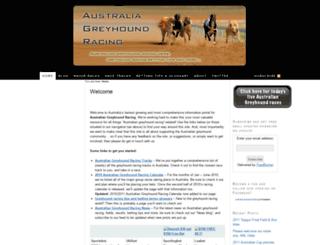 australiagreyhoundracing.com screenshot