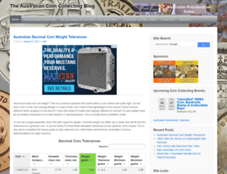 australian-threepence.com screenshot