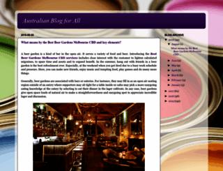 australianallblog.blogspot.com.au screenshot