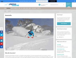 australianalpineresorts.com.au screenshot