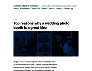 australianarticles.com.au screenshot