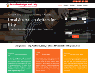australianassignmenthelp.com screenshot