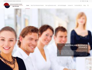 australianbusinessfinance.com.au screenshot