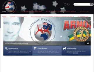 australianpolefitnesschampionships.com.au screenshot