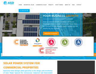 australiansolardesigns.com.au screenshot