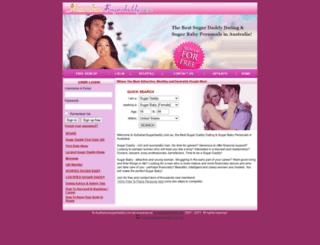 australiansugardaddy.com.au screenshot